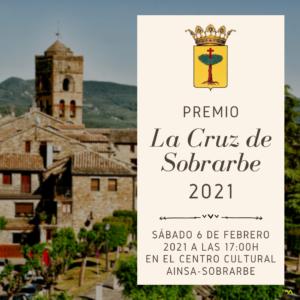 """PREMIO """"LA CRUZ DE SOBRARBE"""" 2021"""