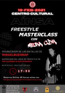 Free Style Masterclass con Mera GDH