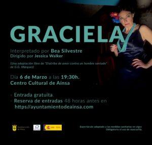 """Graciela - Interpretación libre de """"Diatriba de amor contra un hombre sentado"""""""
